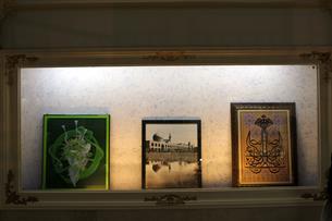 نمایش تابلوهای هنری با محوریت بارگاه ملکوتی حضرت رضا(ع) در موزه آستان قدس رضوی