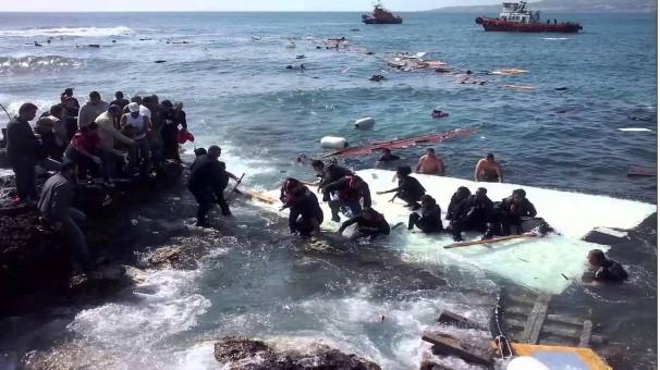 غرق شدن  بیش از 4300 آواره در یک سال گذشته