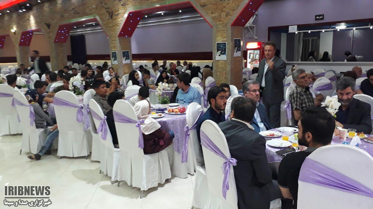جشن گلریزان دانش آموزان