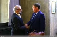 دیدار محمدجواد لاریجانی با رئیس مجلس نمایندگان بلژیک