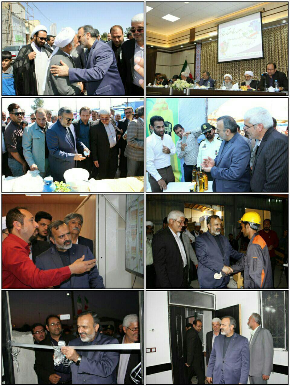 افتتاح چند طرح عمرانی و مسکونی در شهرستان تایباد
