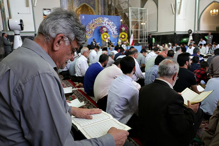 برنامههای قرآنی در حرم رضوی