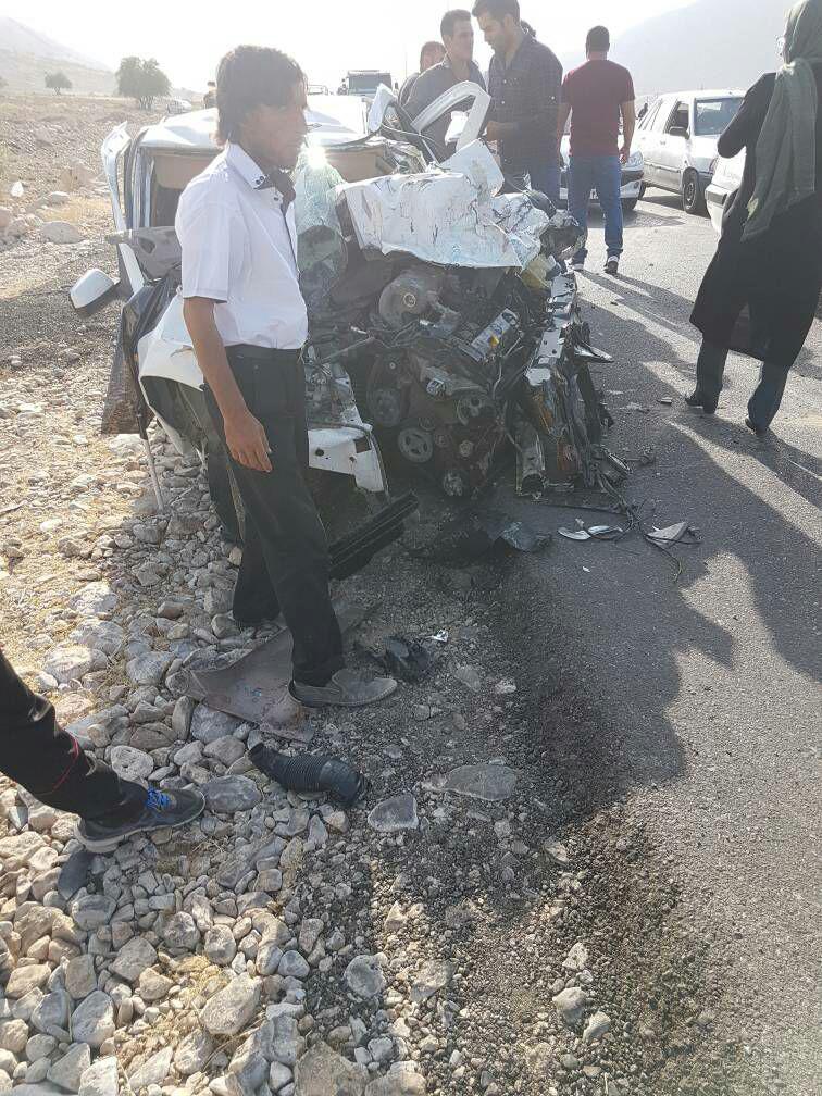 3 کشته و زخمی در حادثه رانندگی گچساران