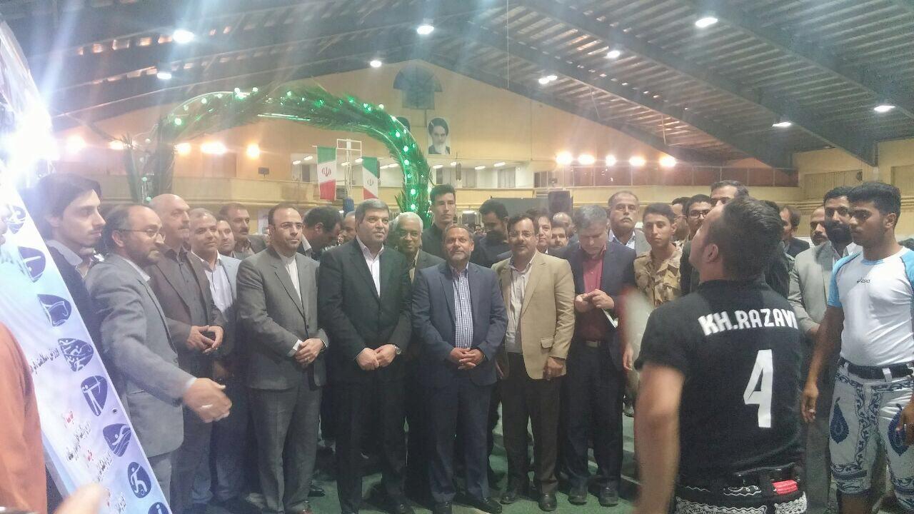 افتتاح نمایشگاه ورزش در مشهد