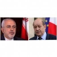 وزرای خارجه ایران و فرانسه دومین بار طی روزهای اخیر گفتگو کردند