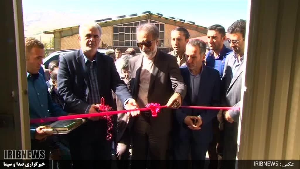 افتتاح کارخانه تولید UPVC  در خلخال