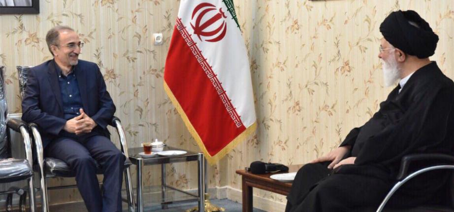 دیدار شهردار مشهد با نماینده ولی فقیه در خراسان رضوی
