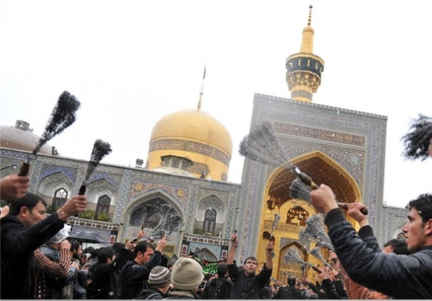 حال و هوای مشهد الرضا در تاسوعای حسینی