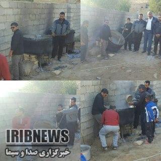 تصاویر پخت حلیم نذری در شهرستان های خراسان رضوی