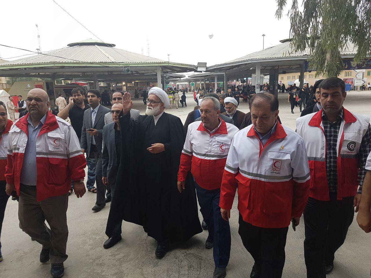 خدماترسانی جمعیت هلالاحمر با 4 قرارگاه و 9 هزار امدادگر