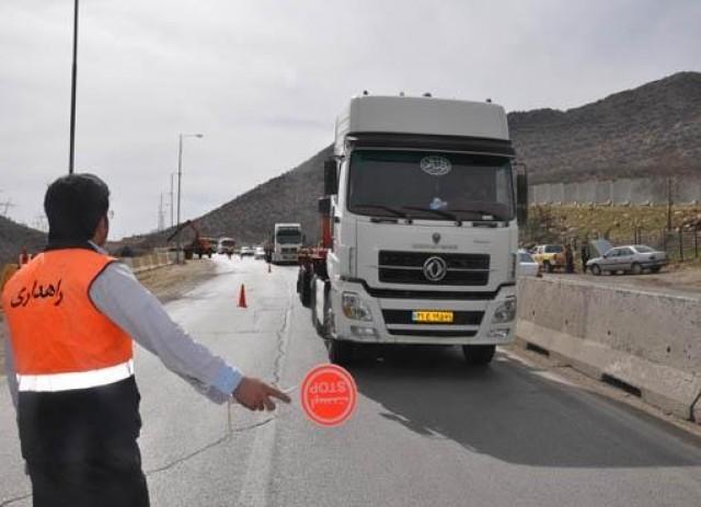 اجرای محدودیتهای ترافیکی پلیس راه خراسان رضوی ویزه ایام اربعین از فردا