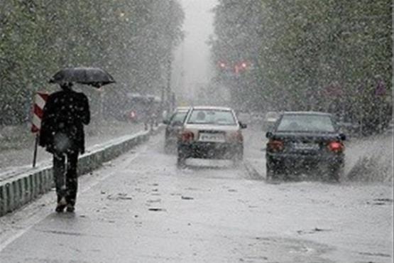 از عصر فردا ،هشدار بارش برف و باران و خطر سیل در خراسان رضوی