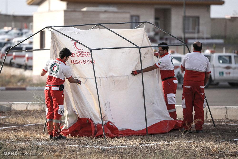 راه اندازی درمانگاه شبانه روزی جاده ای برای زائران پیاده امام رضا(ع)