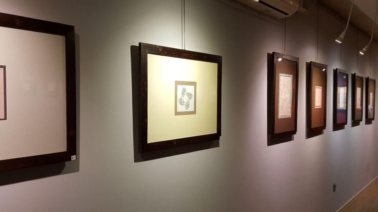 برپایی نمایشگاه انفرادی خطاطی در مشهد