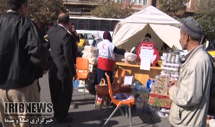 اعزام نخستین محموله کمک مهابادی ها به مناطق زلزلهزده کرمانشاه+گزارش