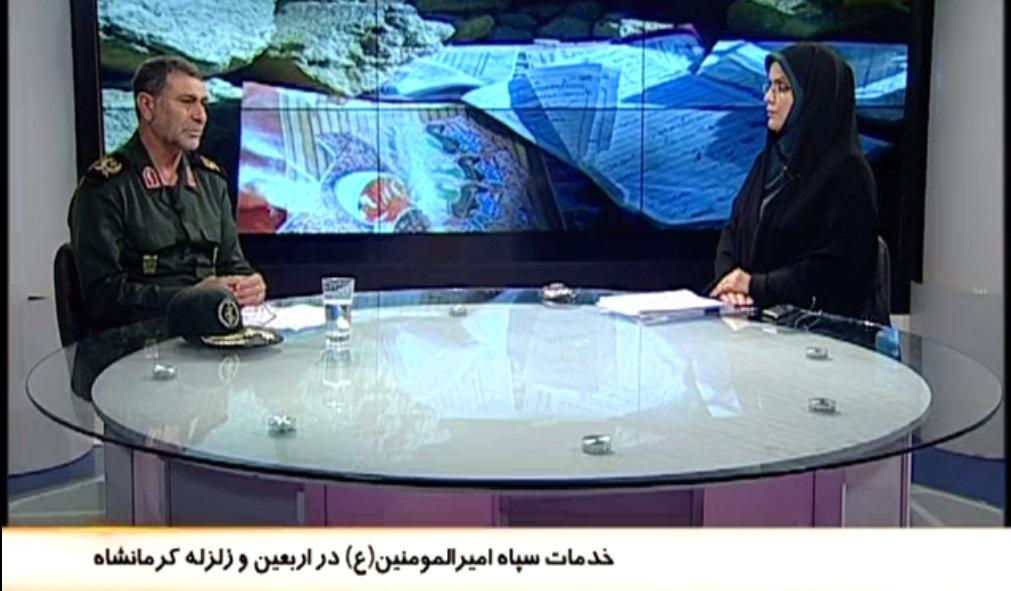 حضور فعال و تاثیرگذار سپاه در عرصههای خدماترسانی کنار و تلاش و سازندگی+ گفتگو