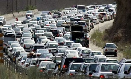 ترافیک در جاده های خراسان رضوی
