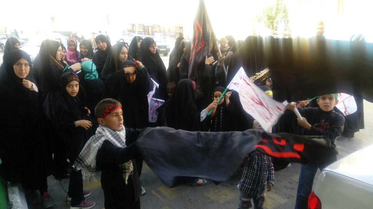 عزاداری کودکان مشهدی در سالروز شهادت حضرت رقیه سلام الله علیها