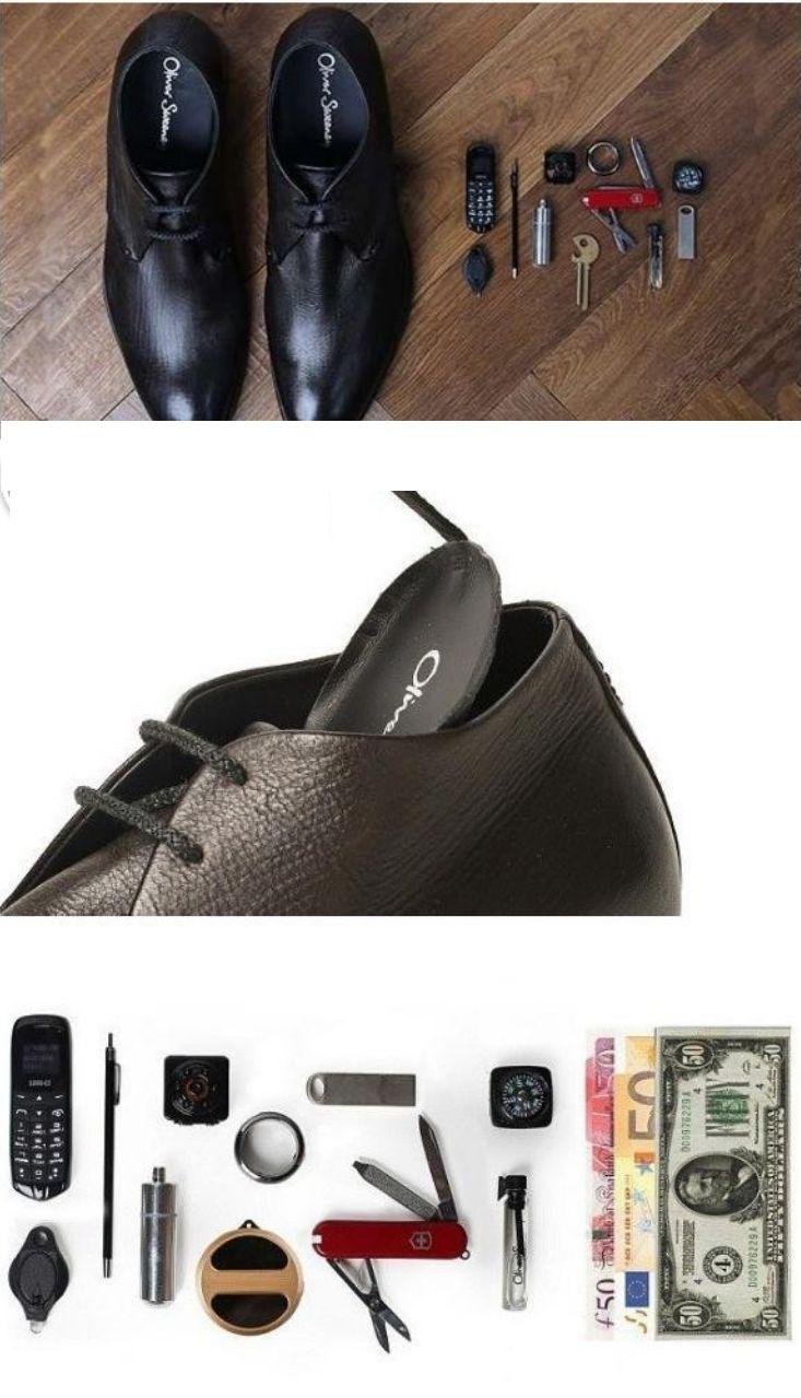 کفشهای جاسوسی باقیمت 2636 دلار
