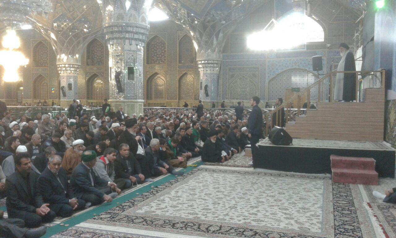 امام جمعه مشهد:راهپیمایی اربعین، ابزارخودکار تشکیلات سازی جهانی تشیع