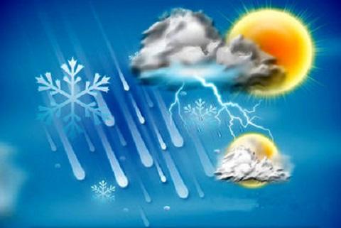 پیش بینی بارشهای رگباری همراه با رعد و برق و وزش باد شدید در خراسان رضوی