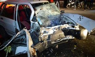 تصادف پراید و پژو ۴۰۵ در محور بجنورد به آشخانه ۳ کشته برجای گذاشت