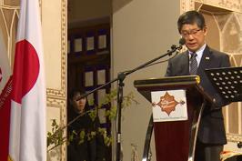 تاکیید سفیر ژاپن بر مستحکمتر شدن روابط فرهنگی