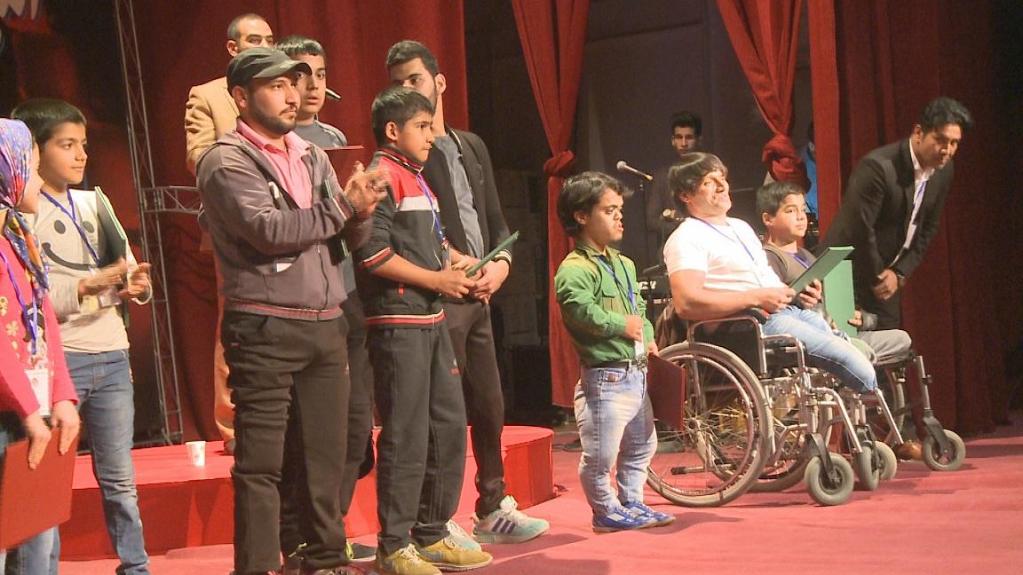 پایان جشنواره منطقه ای تئاتر معلولان شرق کشور در بیرجند