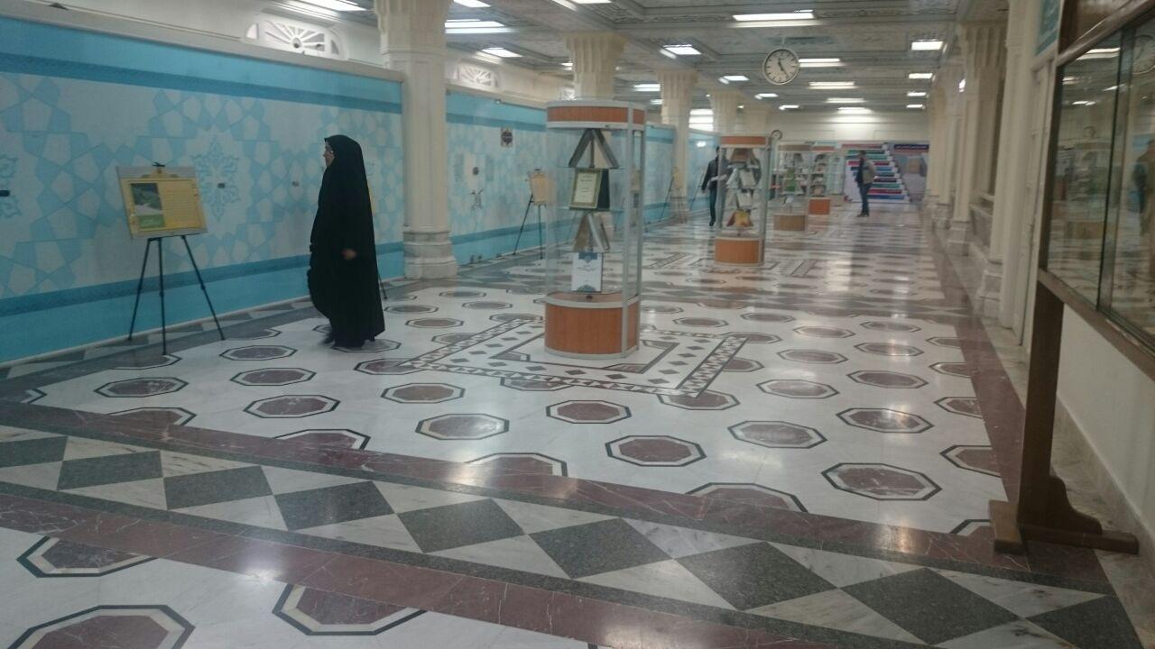 نمایش آثار پژوهشی محققان در کتابخانه مرکزی آستان قدس رضوی