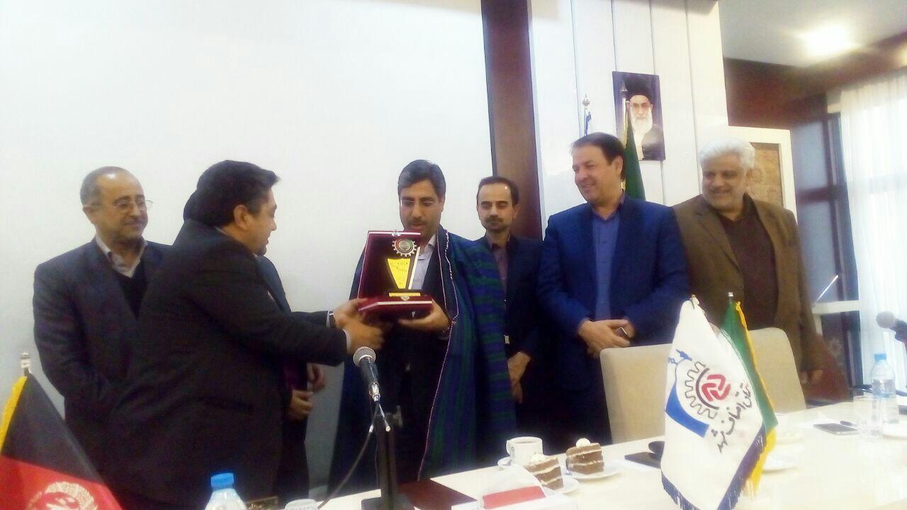 امضاء تفاهمنامه همکاری میان اتاقهای اصناف مشهد و هرات