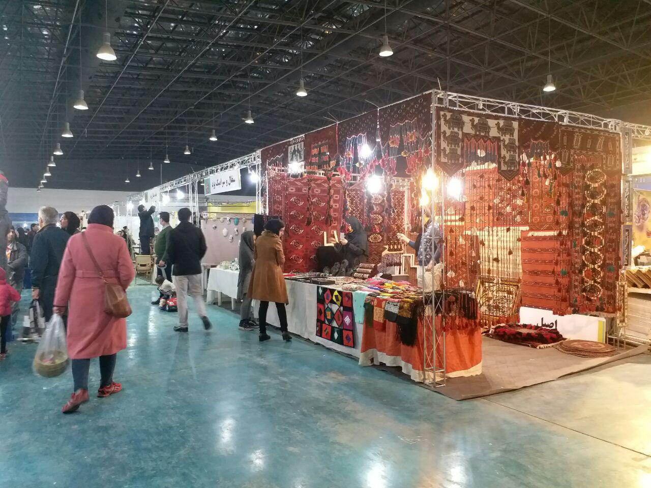 گشایش هشتمین نمایشگاه سراسری صنایع دستی در مشهد