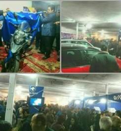 برپایی نمایشگاه خودرو در نیشابور