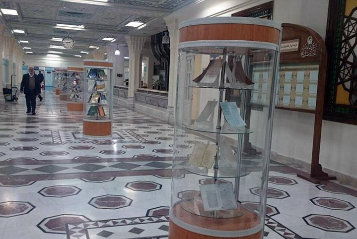 برپایی نمایشگاه های کتاب با محوریت مهدویت در کتابخانه مرکزی آستان قدس رضوی
