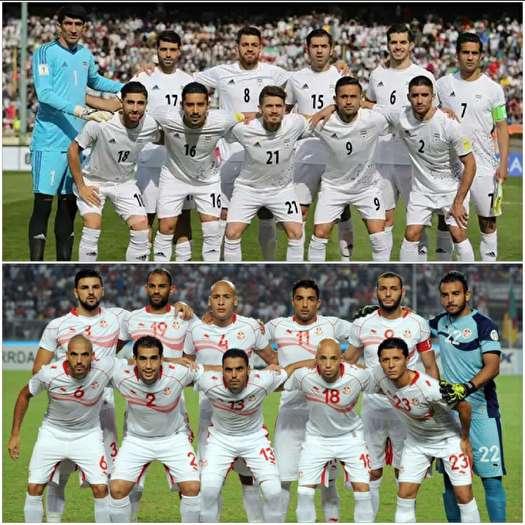 ایران - تونس؛ رقابت بهترین تیمهای آسیا و آفریقا