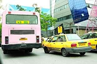 نرخ های جدید کرایه های تاکسی و اتوبوس در هر منطقه و خط، متفاوت است