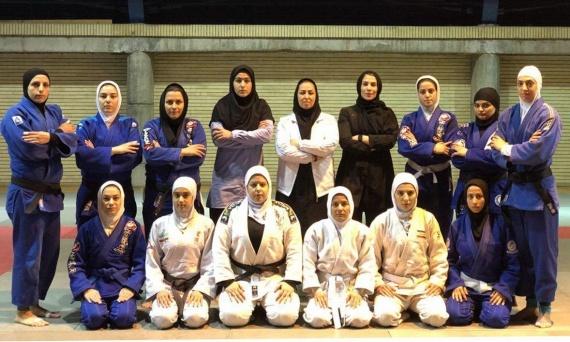 به میزبانی آکادمی ملی المپیک؛ آخرین تمرین بانوان جوجیتسو در تهران