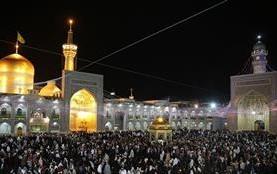 برگزاری جشن اعیاد شعبانیه در حرم امام رضا(ع)