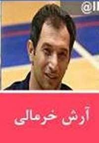 برای حضور در مسابقات جهانی: آرش خرمالی در تیم ملی والیبال نشسته مردان کشور