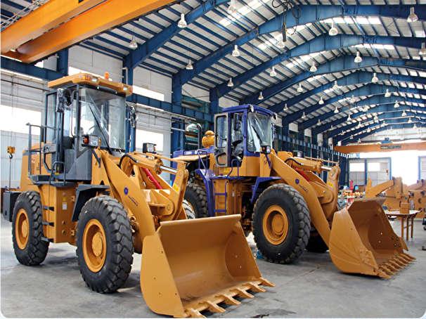 تولید ماشینهای راه سازی کشور در سمنان