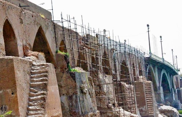 بازسازی قدیمی ترین پل استوار جهان