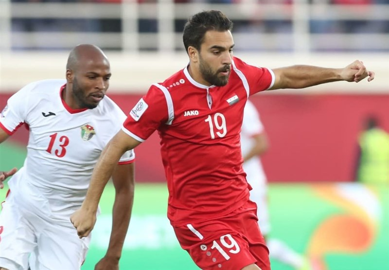 غلبه اردن بر سوریه در جام ملت های آسیا