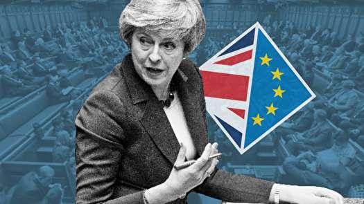 توافق برگزیت ترزا میدر پارلمان انگلیس رأی نیاورد