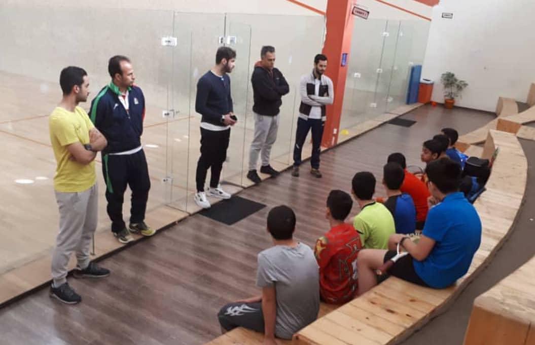 تیم ملی اسکواش در شیراز اردو زد