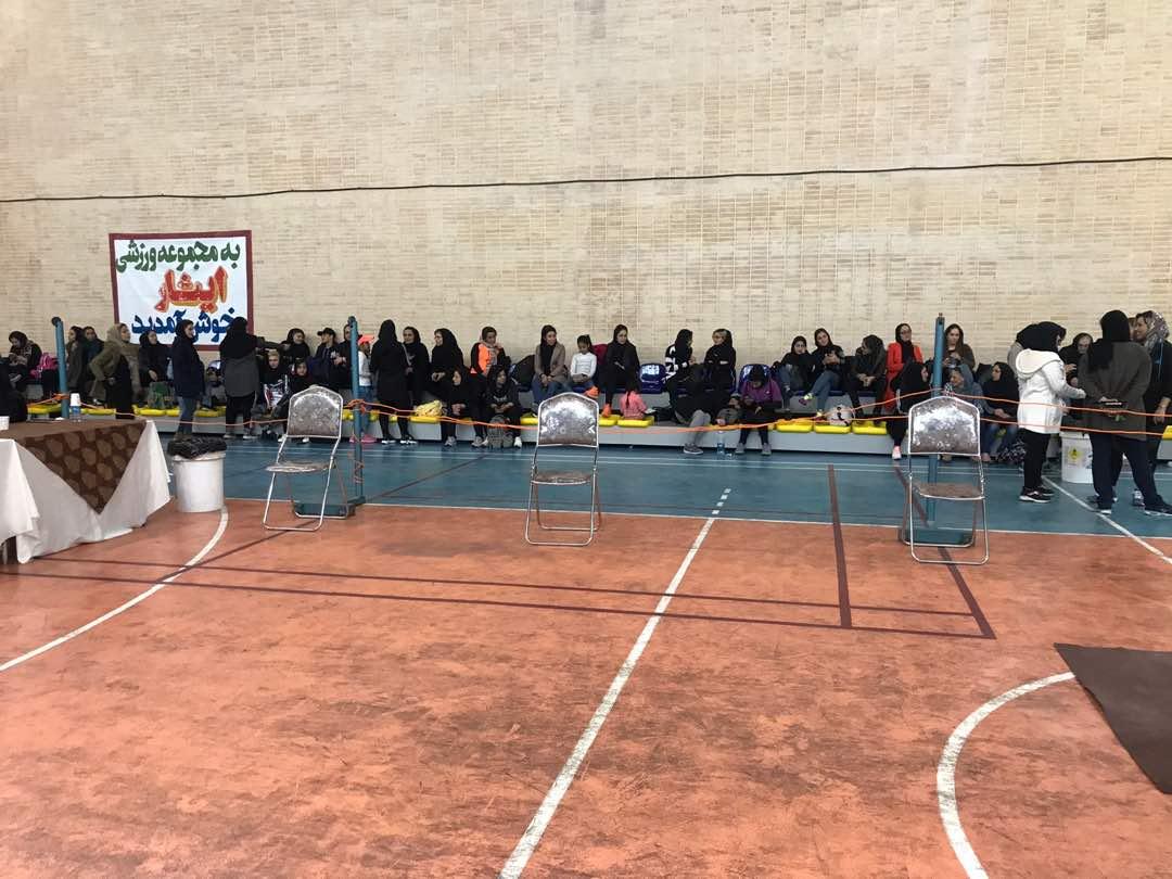 پایان رقابتهای مچ اندازی قهرمانی بانوان فارس