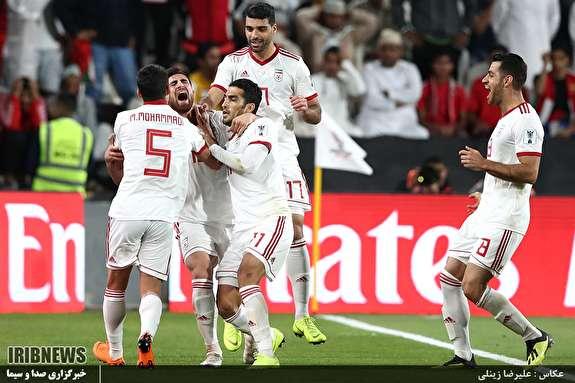 رقابت تیم های فوتبال ایران - عمان