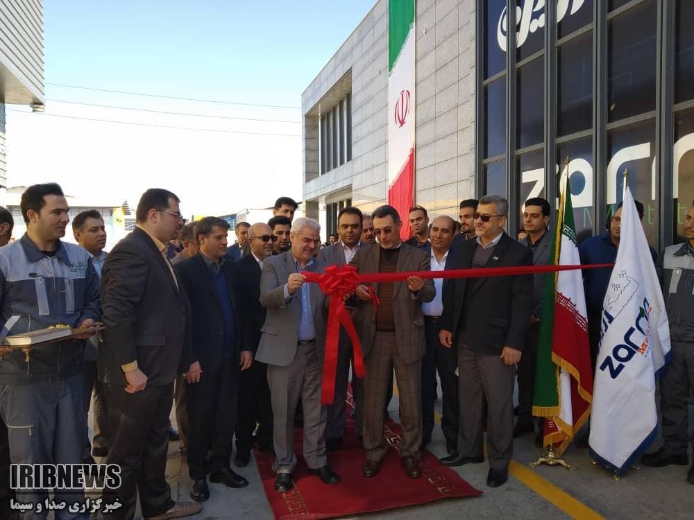 افتتاح دو طرح صنعتی با حضور معاون وزير صنعت، معدن و تجارت در شیراز