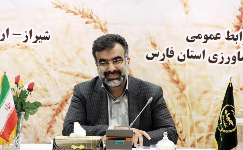 بهره برداری از ۶۴ طرح جهاد کشاورزی در فارس