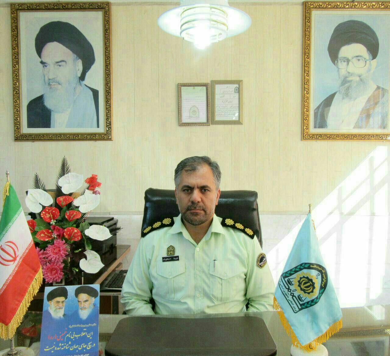 دستگیری سارق حرفه ای با ۸ فقره سرقت در خواف