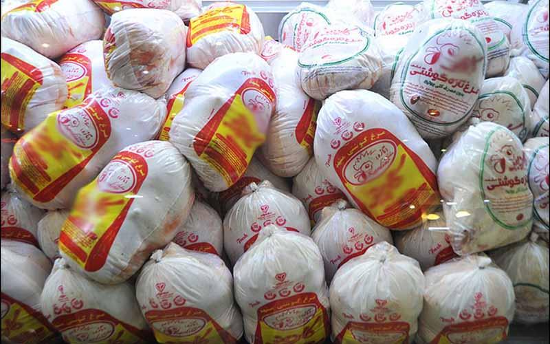 کشف ۴.۵ تن مرغ منجمد تنظیم بازار از یک مغازه