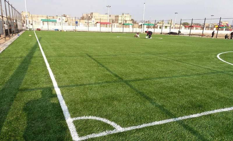 توسعه فضاهای ورزشی در اقلید
